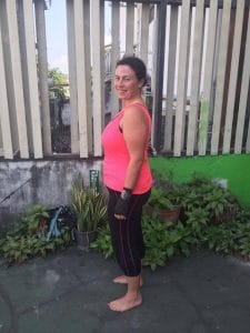 Anne Marie's After photo at the fitness bootcamp