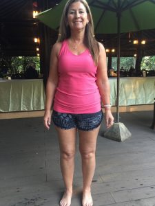 Carol's After photo at the fitness bootcamp