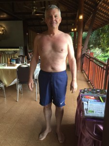 Chris's after photo at the fitness bootcamp