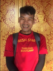 Mathee is a trainer at Fresh Start fitness boot camp in Thailand