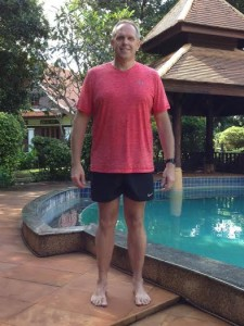 Ian's after photo from Thaialnd fitness boot camp