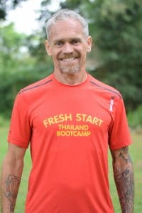 Jez staff trainer at fresh start bootcamp holiday