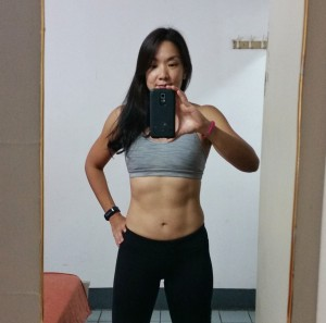 Karyn's after photo at the fitness bootcamp