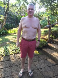 Ken's After photo at the fitness bootcamp
