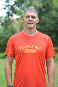 Richard Thomas founder of fresh start fitness boot camp holiday in Thailand