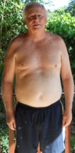 Tim's After photo at the fitness bootcamp