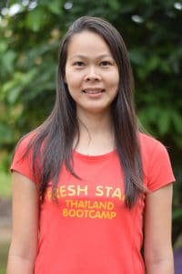 Weena office manager at fresh start fitness and health boot camp holiday