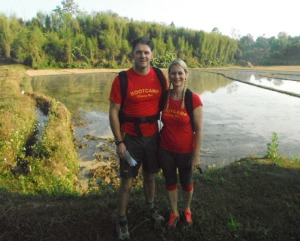 Co'founders of the Thailand fitness bootcamp