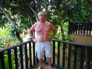 Trevor's after photo from the Thailand Fitness Bootcamp