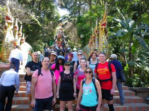 Bootcamp in Chiang Mai Doi Suthep temple
