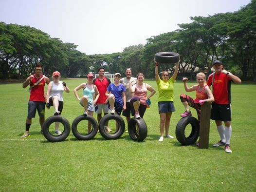 April 2014 bootcampers from the number one bootcamp in Thailand