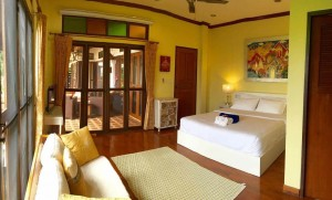 residential fitness boot camp Luxury room in our shared villa