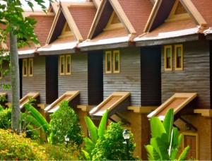 One bedroom 2 story Lanna villa