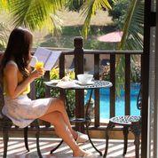 Spa Resort balcony