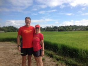 Richard and Louise from Fresh Start Thailand fitness bootcamp