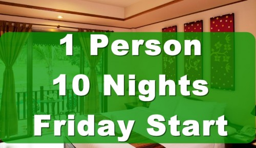 1 person 10 nights