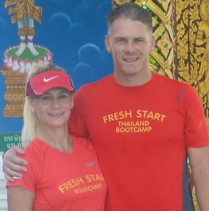 Louise and Richard Thomas founders of Fresh Start