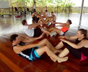 Ab Work Out Muay Thai Fresh Start Fitness Holiday Bootcamp Monday 25th February 2013 300×246