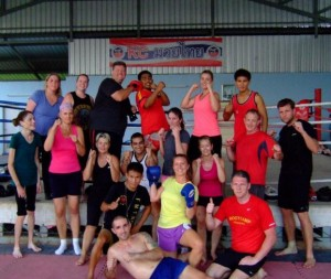 April_25th_2013_fresh_start_boot_camp_Muay_Thai_session_Chiang_Mai