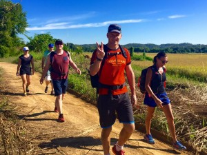 Walking fitness bootcamp
