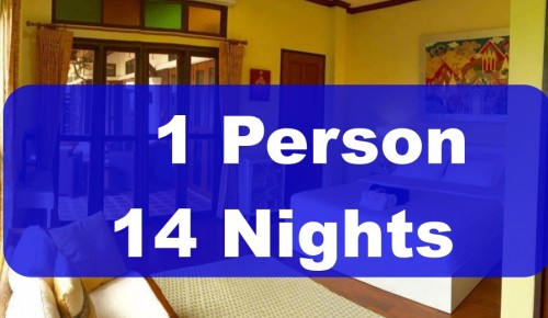 1 Person 14 Nights