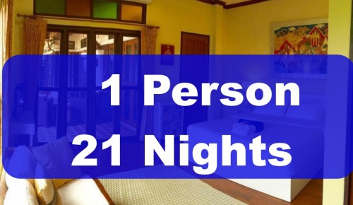 1 Person 21 Nights