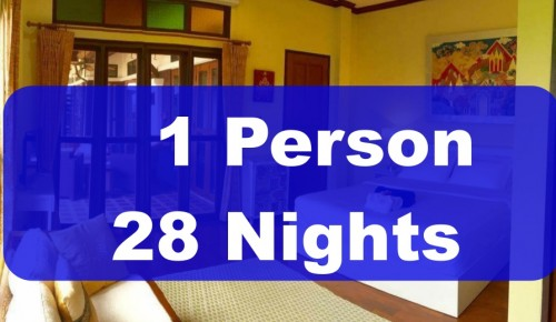 1 Person 28 Nights