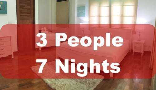 3 People 7 Nights