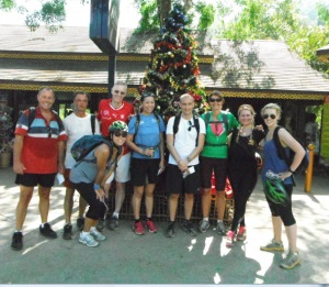 Fitness bootcamp retreat at Christmas time