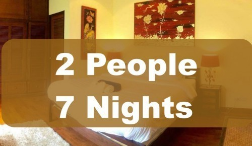 LUXURY ROOM IN EXECUTIVE VILLA – 2 PEOPLE SHARING – 7 NIGHTS
