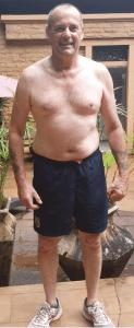 Dave's after his 7 day weight loss retreat in Thailand