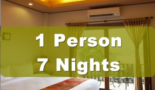 One Bedroom Lanna Villa Suite – 1 Person – 7 Nights