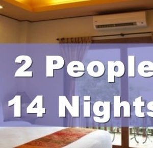 One Bedroom Lanna Villa Suite – 2 People Sharing – 14 Nights