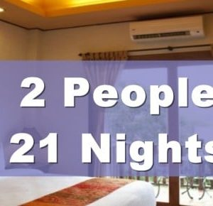 One Bedroom Lanna Villa Suite – 2 People Sharing – 21 Nights