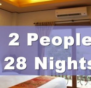One Bedroom Lanna Villa Suite – 2 People Sharing – 28 Nights