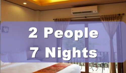 One Bedroom Lanna Villa Suite – 2 People Sharing – 7 Nights